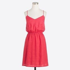 NWT J. Crew Factory Linen cami dress